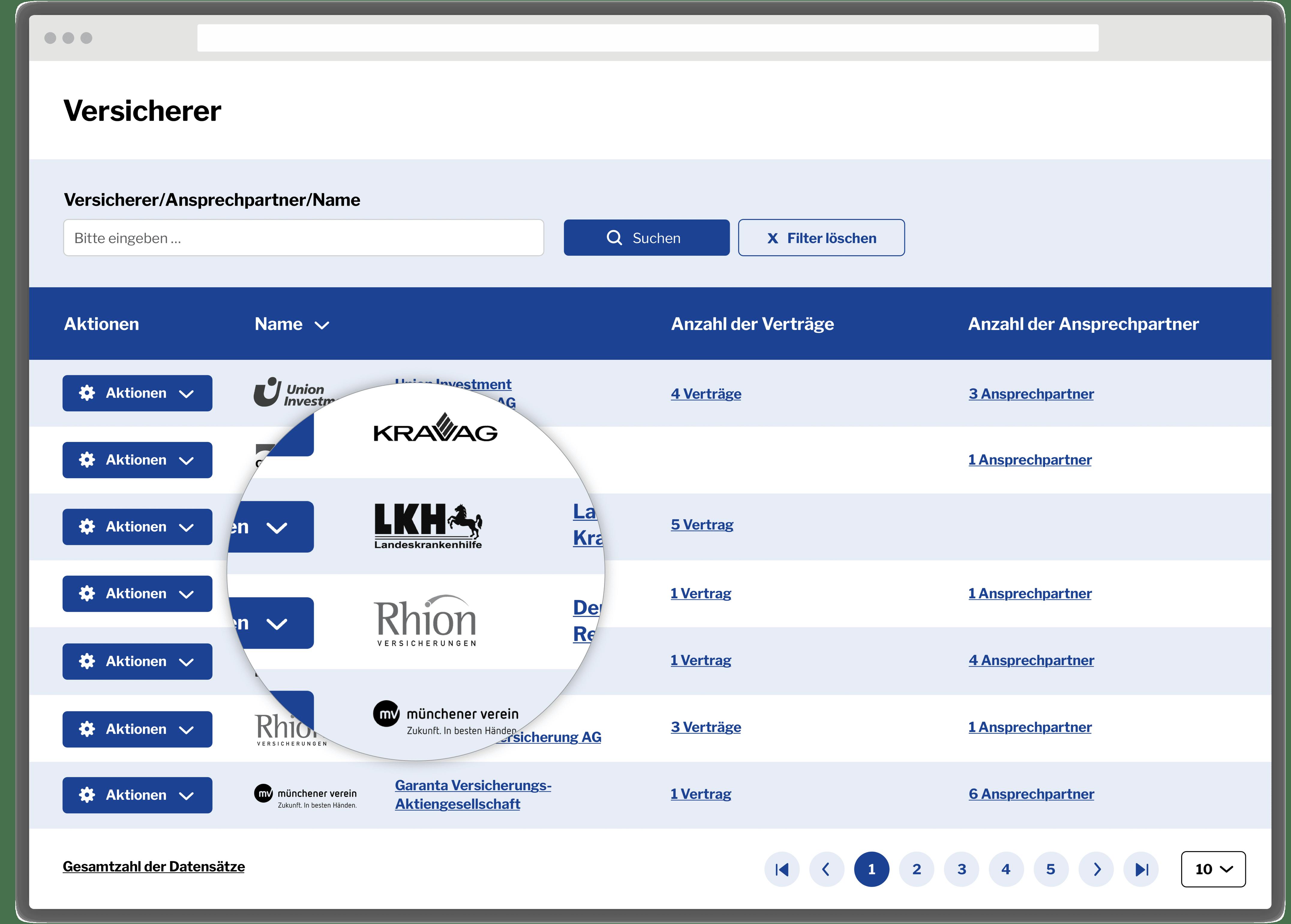 Versicherer Makler-Portal